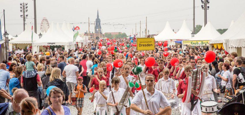 CANALETTO – Das Dresdner Stadtfest | 18. – 20. August 2017 - Pressemitteilung - Sparkassen-BABYPARADE