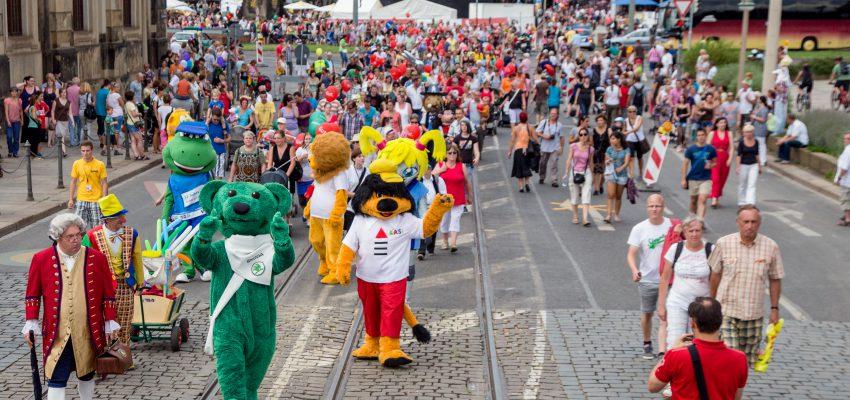 CANALETTO – Das Dresdner Stadtfest   18. – 20. August 2017 - Pressemitteilung - Sparkassen-BABYPARADE