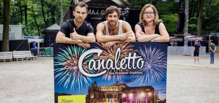 CANALETTO – Das Dresdner Stadtfest vom 17. – 19. August 2018 - Wenn Dresden tanzt – dann mit Max Giesinger und Freiberger bei CANALETTO – Das Dresdner Stadtfest