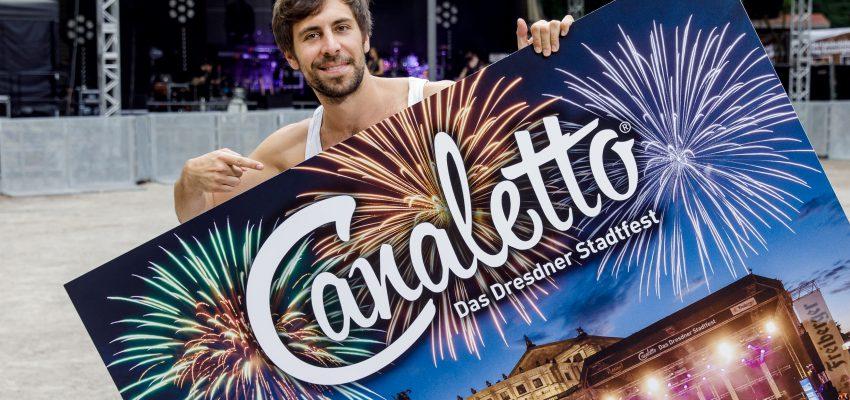 CANALETTO – Das Dresdner Stadtfest vom 16. bis 18. August 2019 - Pressemitteilung - Wenn Dresden tanzt – dann mit Max Giesinger und Freiberger bei CANALETTO – Das Dresdner Stadtfest