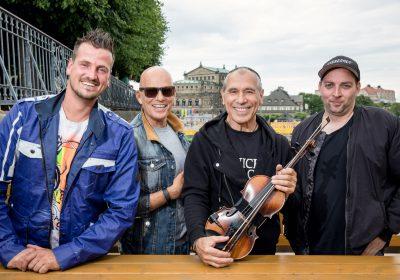CANALETTO – Das Dresdner Stadtfest vom 17. – 19. August 2018 - Klassik meets Rock meets DJ-Power: Radeberger Pilsner holt die Dresdner Philharmonie, CITY und Stereoact