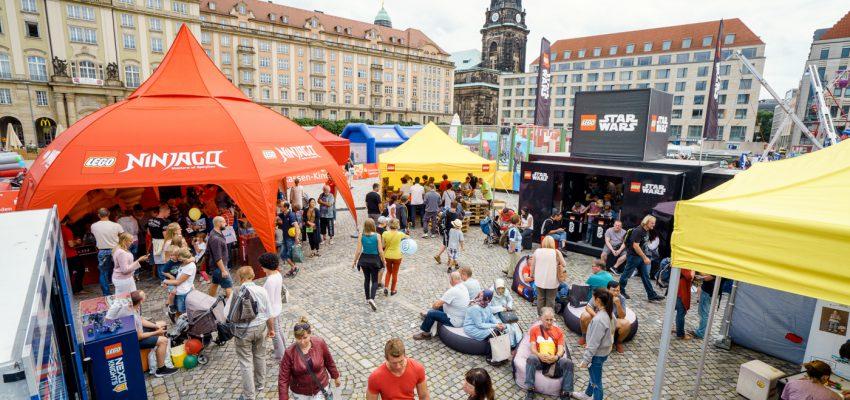 CANALETTO – Das Dresdner Stadtfest vom 16. bis 18. August 2019 - Pressemitteilung - Rückblick 2017