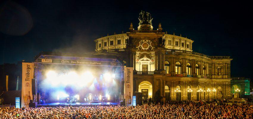 CANALETTO – Das Dresdner Stadtfest vom 16. bis 18. August 2019 - Rückblick 2017