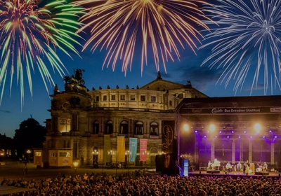 CANALETTO – Das Dresdner Stadtfest vom 17. – 19. August 2018 - Volles Programm, große Party, furioses Finale