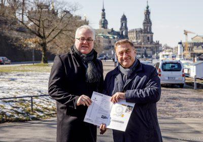 CANALETTO – Das Dresdner Stadtfest vom 17. – 19. August 2018 - Sensationelle Aussichten zum Stadtfestjubiläum: CANALETTO-Macher holen weltgrößten mobilen Aussichtsturm nach Dresden