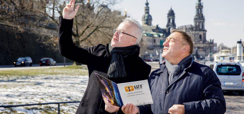 CANALETTO – Das Dresdner Stadtfest vom 16. bis 18. August 2019 - Pressemitteilung - Sensationelle Aussichten zum Stadtfestjubiläum: CANALETTO-Macher holen weltgrößten mobilen Aussichtsturm nach Dresden