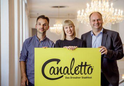 CANALETTO – Das Dresdner Stadtfest vom 17. – 19. August 2018 - Gar nicht leise. Das CANALETTO-Programm steht