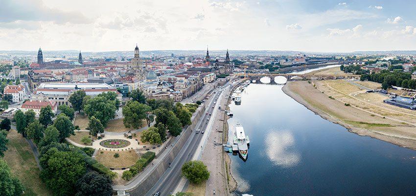 CANALETTO – Das Dresdner Stadtfest vom 17. – 19. August 2018 - Ein Ticket für den einmaligen CANALETTO-Blick: Der Vorverkauf zum Skyliner-Höhenrausch startet am 6. Juli