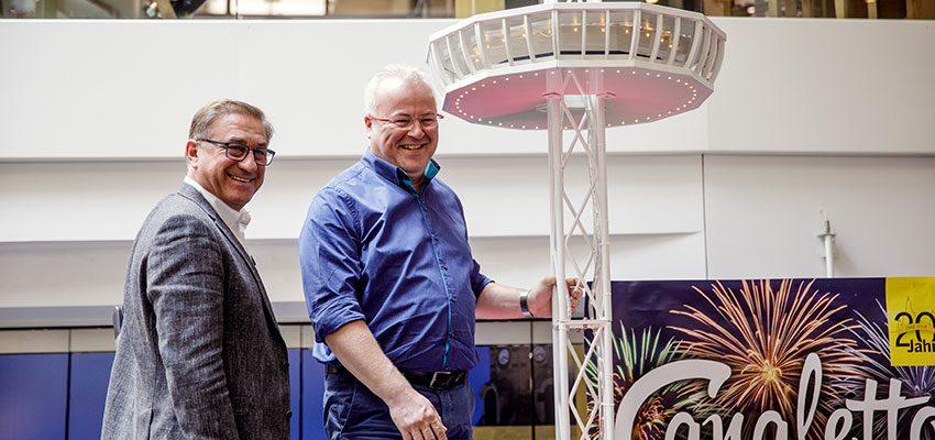 CANALETTO – Das Dresdner Stadtfest vom 17. – 19. August 2018 - Pressemitteilung - Ein Ticket für den einmaligen CANALETTO-Blick: Der Vorverkauf zum Skyliner-Höhenrausch startet am 6. Juli