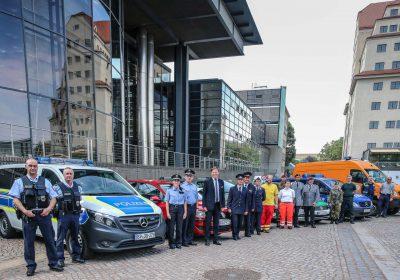CANALETTO – Das Dresdner Stadtfest vom 17. – 19. August 2018 - Löbtau-Bombe, spannende Technik und Politik zum Anfassen: Die Blaulichtmeile wird zum Jubiläumsstadtfest abwechslungsreicher denn je.