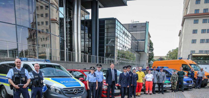 CANALETTO – Das Dresdner Stadtfest vom 16. bis 18. August 2019 - Löbtau-Bombe, spannende Technik und Politik zum Anfassen: Die Blaulichtmeile wird zum Jubiläumsstadtfest abwechslungsreicher denn je.