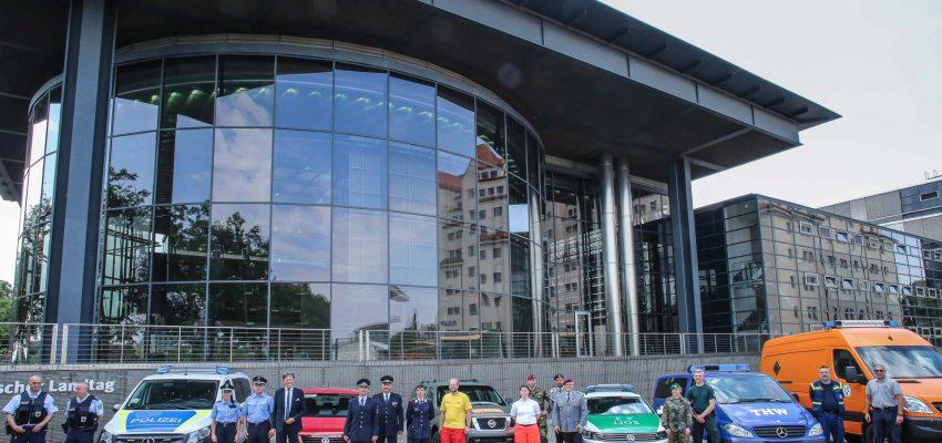 CANALETTO – Das Dresdner Stadtfest vom 16. bis 18. August 2019 - Pressemitteilung - Löbtau-Bombe, spannende Technik und Politik zum Anfassen: Die Blaulichtmeile wird zum Jubiläumsstadtfest abwechslungsreicher denn je.