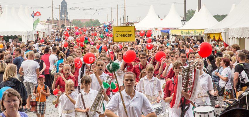 CANALETTO – Das Dresdner Stadtfest vom 17. – 19. August 2018 - Pressemitteilung - Sparkassen BABYPARADE