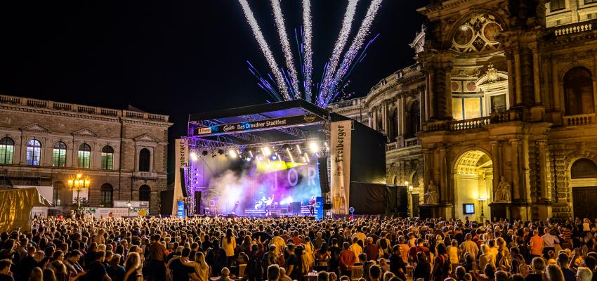 CANALETTO – Das Dresdner Stadtfest vom 16. bis 18. August 2019 - Pressemitteilung - CANALETTO® – Das Dresdner Stadtfest 2020 fällt aus