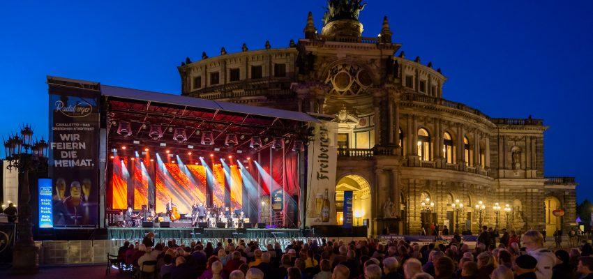 CANALETTO – Das Dresdner Stadtfest vom 19. – 21. August 2022 - Pressemitteilung - 350.000 Besucher feiern CANALETTO