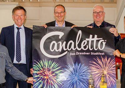 CANALETTO – Das Dresdner Stadtfest vom 19. – 21. August 2022 - CANALETTO® – feiert zum Tag der deutschen Einheit