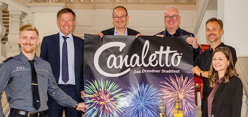 CANALETTO – Das Dresdner Stadtfest vom 01. – 03. Oktober 2021 - Pressemitteilung - CANALETTO® – feiert zum Tag der deutschen Einheit